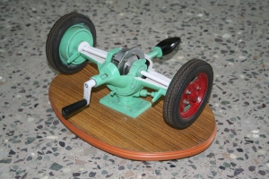 differential_gear_box_model